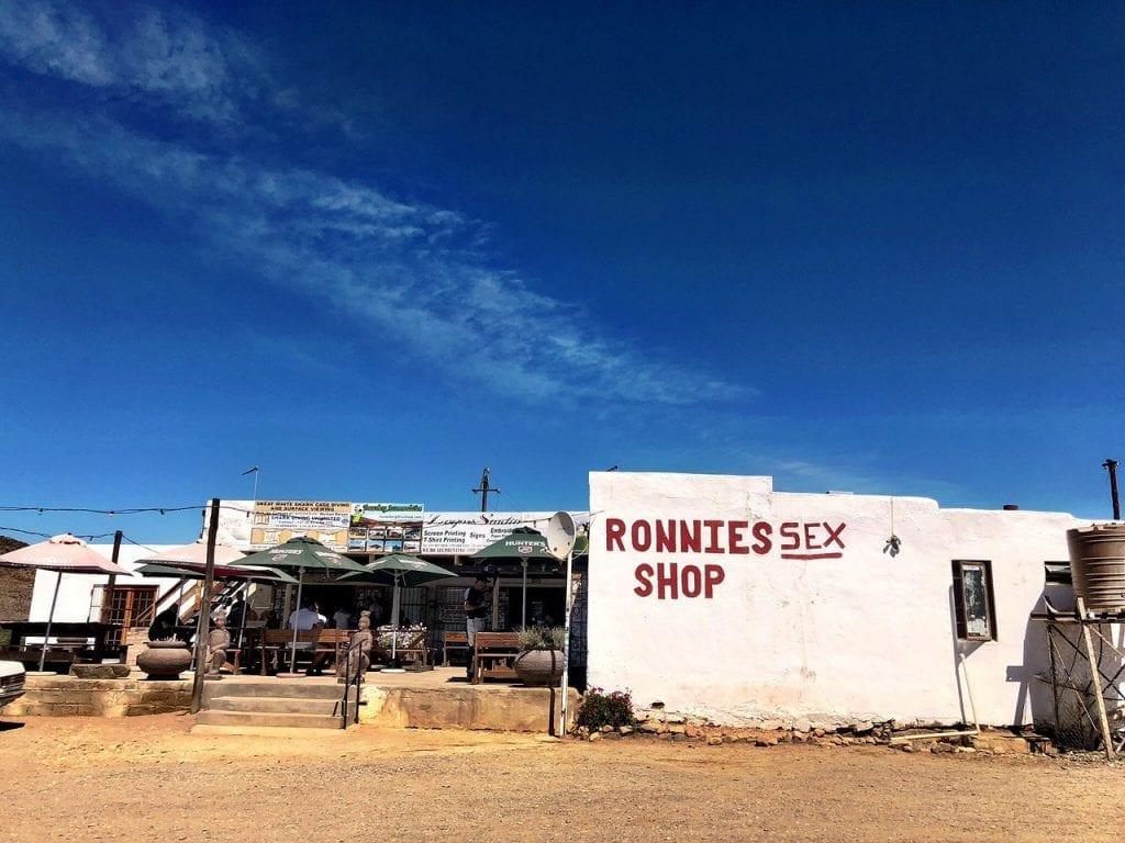 ronnie sex shop